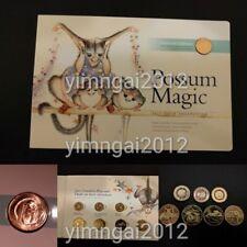 HOT!!! 2017 Possum Magic UNC Coin Set - 3 x $2 Coloured Coins, 4 x $1 & 1c Coin