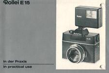 Rollei-e 15-Istruzioni Manual-b2151