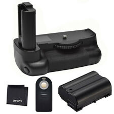 Battery Grip For Nikon D7500 + EN-EL15 Battery + Universal Remote Control