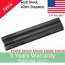 Battery for Dell Latitude N-Series E5430 E5520 E5520 BRC 6 E5520 Laptop