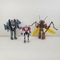 Vintage Hasbro 1997 Transformers Lot of 3 Beast Wars Baboon, Transquito, Ram