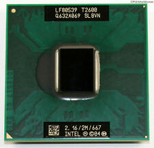 Intel Core Duo SLBVN T2600 2,16GHz/2Mb/667MHz FSB Processore CPU Notebook P78