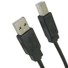 3 Metre Long USB High Speed 2.0 A to B Male Cable Epson Kodak HP Printer Lead 3m