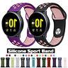 Silikon Sport Armband Für Samsung Galaxy Watch 42mm/46mm Active 2 40mm 44mm Band