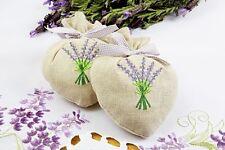 1 Stück Duftsäckchen Herzform mit Lavendelsamen Schutz gegen Schädlinge