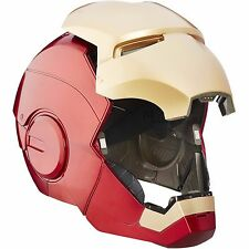 Iron Man Helmet and Face Mask Marvel Legend Adult Replica Real Light Up Costume