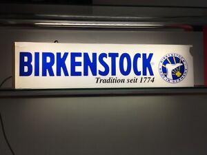 Birkenstock - Neon Box Display Sign- collectors item