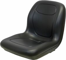 "Black 18.80"" Seat Fits Simplicity Mowers With 4.5"" X5.25 and 6.5""X5.25"" Mounting"