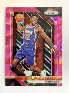 2018 Panini Prizm Basketball  Deandre Ayton RC Pink Cracked Ice Rookie NM - Mint