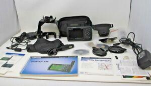 Garmin GPSMAP 496 Bundle W Tons of Accessories & Cords & Paperwork