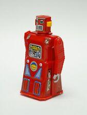 """1997 MACHINE MAN ROBOT WIND UP ACTION TOY MASUDAYA MADE IN JAPAN   ~ 4.75"""""""