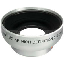 Vivitar Pro .43X Wide Angle Lens w/ Macro 43mm threading (Black)