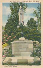 ROYAL OAK MI – Shrine of the Little Flower Grotto in the Garden - 1950