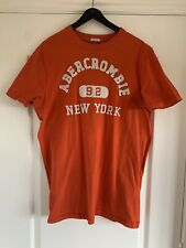 MENS ABERCROMBIE &  FITCH NEW YORK MUSCLE T Shirt, MEDIUM