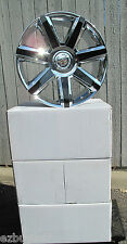 "22"" NEW CADILLAC ESCALADE FACTORY STYLE CHROME & BLACK WHEELS RIMS 4739"