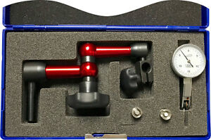 "iGAGING 3 Axis 7"" Universal Clamp Arm +0.03""/0.0005"" test indicator set"