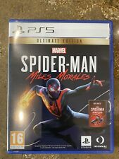 New listing Marvel's Spider-Man Miles Morales Ultimate Edition (PS5, 2020)