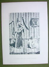 AFRICA Sudan Tambourine Girl & Moorish Dancer - 1880s Photogravure Print