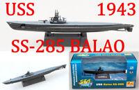 Easy Model 1/700 USS SS-285 BALAO Class 1943 Plastic Submarine Model #37310