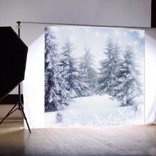 Hintergrundstoff Weihnachten Schnee Fotostudio 3x3Meter Fotohintergrund  //