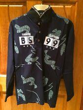 Camisa de manga larga Jersey Negro (pequeño)