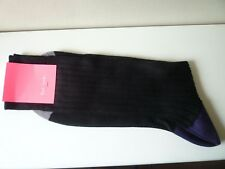 Paul Smith Men's Black Cotton Socks Size M
