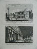 Pietro Ruga Grabado Basílica Santa Maria Mayor Para Roma