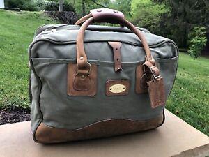 VTG GOKEY-ORVIS Canvas & Leather Bag