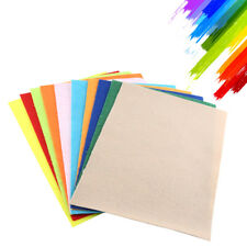 10 Pcs 30x20cm MultiColor Soft Non-woven Felt Square Fabric For Art Crafts DIY
