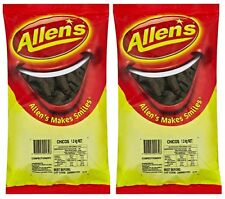 Bulk Lot 2 x Allens Chicos1,3kg Bgs Chocolate Gummy Lollies Sweets Buffet Candy