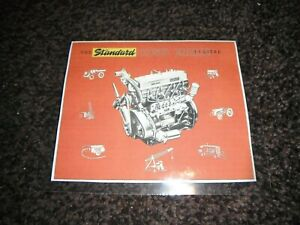 1950's 'STANDARD' 20c DIESEL ENGINE (FERGUSON TRACTOR) ADVERT (LAMINATED COPY)
