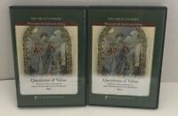 The Great Courses- Questions of Value Parts 1 & 2 DVD