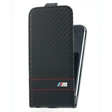 FLAP CASE BMW M COLLECTION BLACK IPHONE 6 6S EFFET CARBONE PROTECTION SHIELD