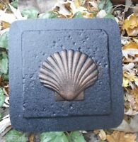 Shell plastic travertine tile mold plaster cement casting mould