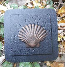 Gostatue MOLD plaster cement lg shell  plastic travertine tile mold