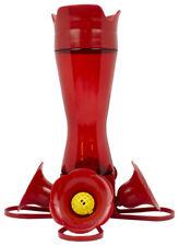 New Perky-Pet 403Cp Red Pinch 4-Port Waist Plastic Hummingbird Feeder 8 oz.