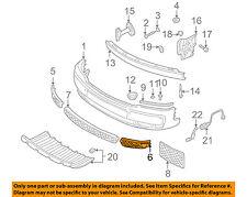 AUDI OEM 01-05 Allroad Quattro-Grille Grill-in Bumper Left 4Z78076813FZ