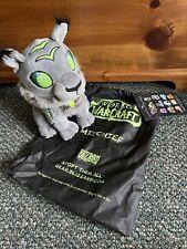 World Of Warcraft Mischief Plush W/ Tote Bag