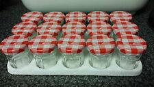 15 x 30g VUOTO BONNE Maman Confettura Pentola piccola/BARATTOLO. Marmellata Conserva Chutney spezie