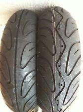 Shinko 006 Scooter Tyre Pair 130/70-12 & 120/70-12 Vespa Piaggio Kymco Yamaha