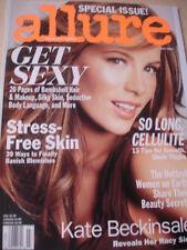july 2006 Allure KATE BECKINSALE cover + sexy issue nude + bikini shots
