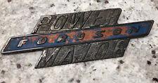 Original Vintage Tractor Fordson Power Major Badge