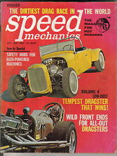 Speed Mechanics 5/63 Ford Falcon Tempest Austin Bantam Nibab Drag Racing +