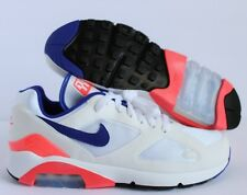 NIKE AIR MAX 180 OG WHITE-ULTRAMARINE-SOLAR RED SZ 13 [615287-100]