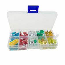 120 x Mini Blade Fuses. Assorted, Car Motorcycle Motorbike Automotive.
