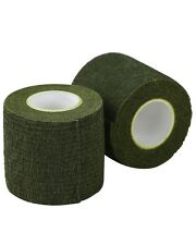 OLIVE GREEN TACTICAL ARMY STYLE STEALTH MULTI USE REUSABLE CLOTH SNIPER TAPE
