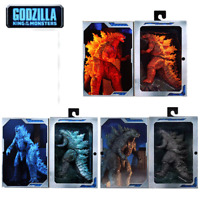 NECA 2019 King of Nuclear Explosive Monsters Burning Godzilla Action Figure Toys
