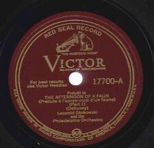 Leopold Stokowski, Philadlephia Or on 78 rpm Victor 17700: Afternoon of a Faun