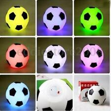 Color Changing Soccer Football LED Light Lamp Night Lamp Kid Children Toy Gift