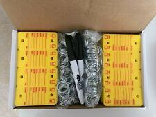 Car Dealer Key Tags, Tough Poly Rigidene Style, 500 Survivor Style Yellow Tags